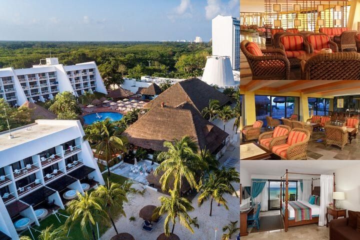 Melia Cozumel All Inclusive Golf & Beach Resort photo collage