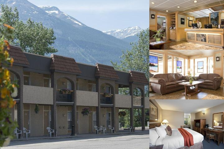 Maligne Lodge photo collage