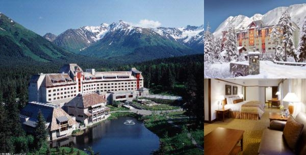 The Hotel Alyeska photo collage