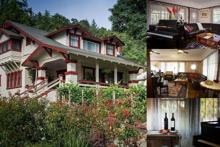 The Craftsman Inn photo collage