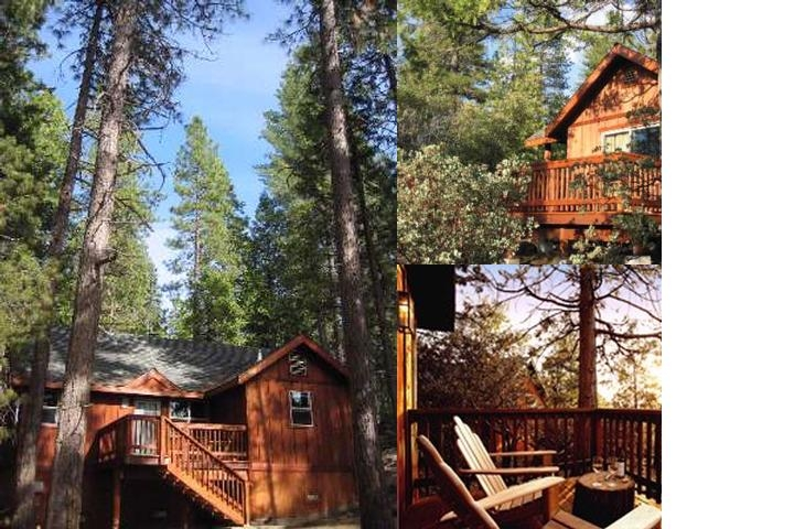 Evergreen Lodge photo collage