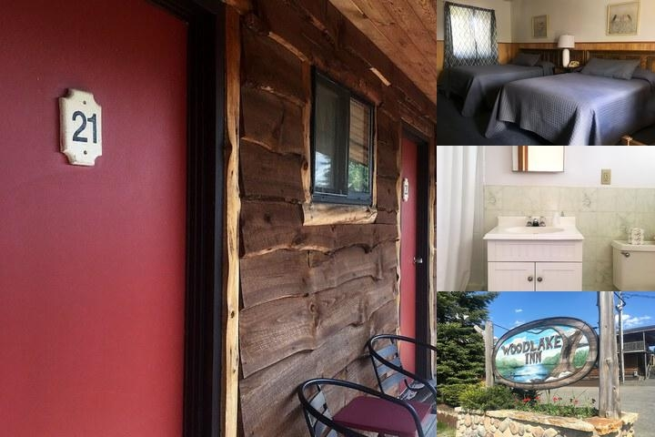 Woodlake Inn photo collage