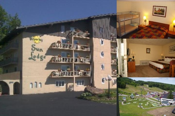 Bromley Sun Lodge photo collage