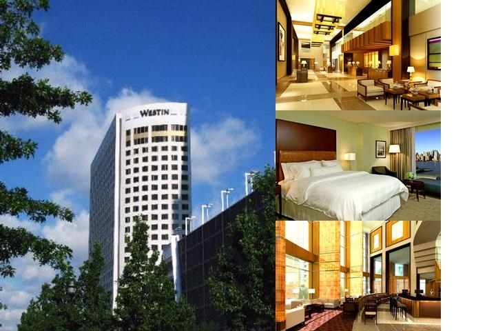 The Westin Jersey City Newport photo collage
