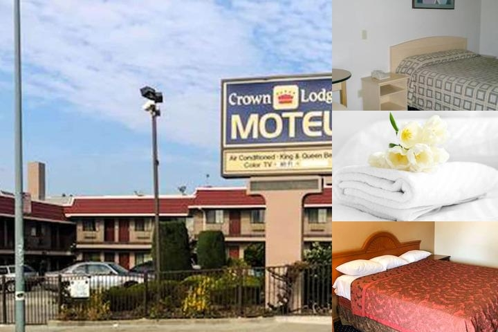 Crown Lodge Motel photo collage