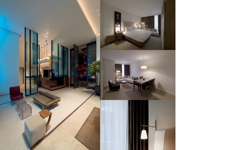 The Alex Hotel photo collage
