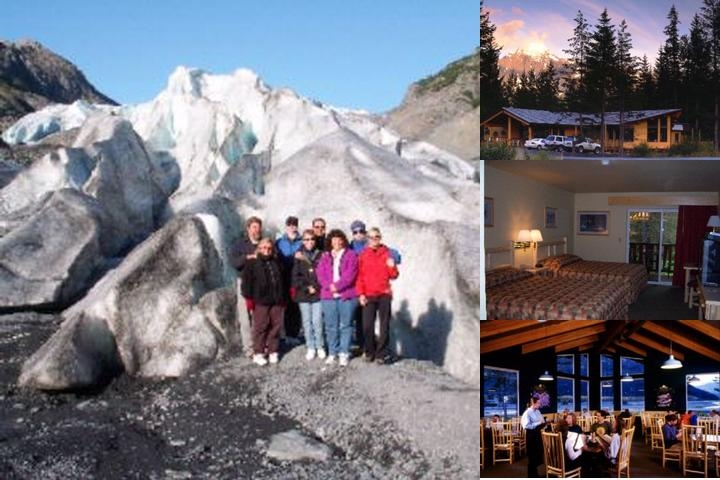 Seward Windsong Lodge photo collage
