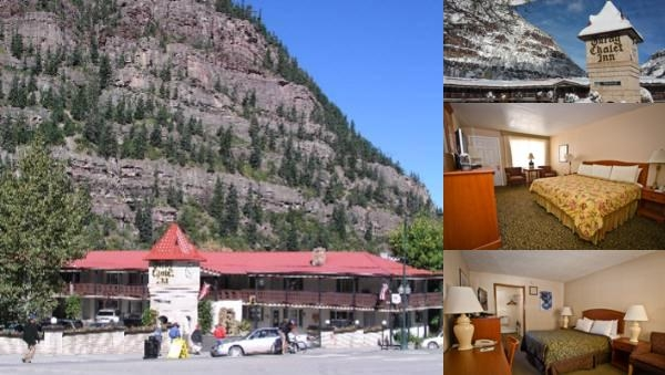 Ouray Chalet Inn photo collage