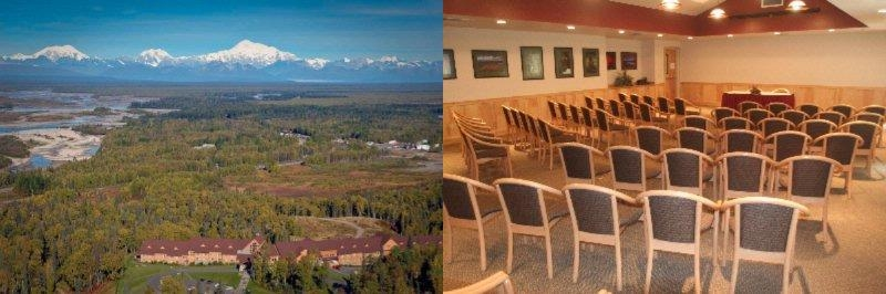Talkeetna Alaskan Lodge photo collage