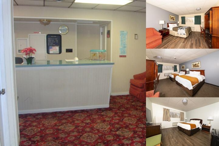 Bedford Motel photo collage