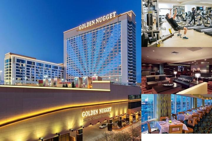 Golden Nugget Atlantic City photo collage