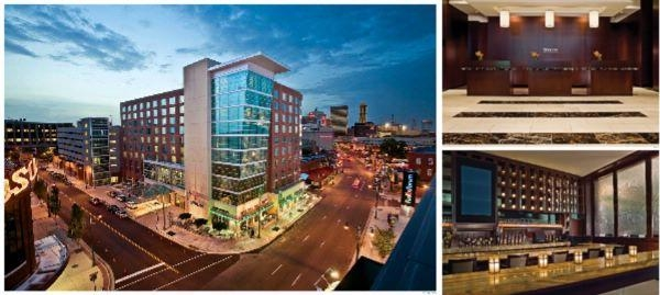 Westin Memphis Beale Street photo collage