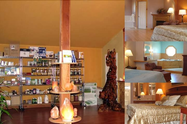 Coast Inn & Spa Fort Bragg photo collage