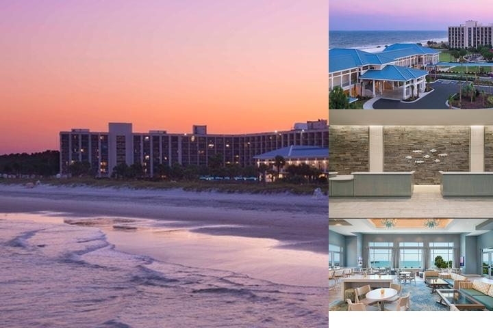 Springmaid Beach Resort photo collage