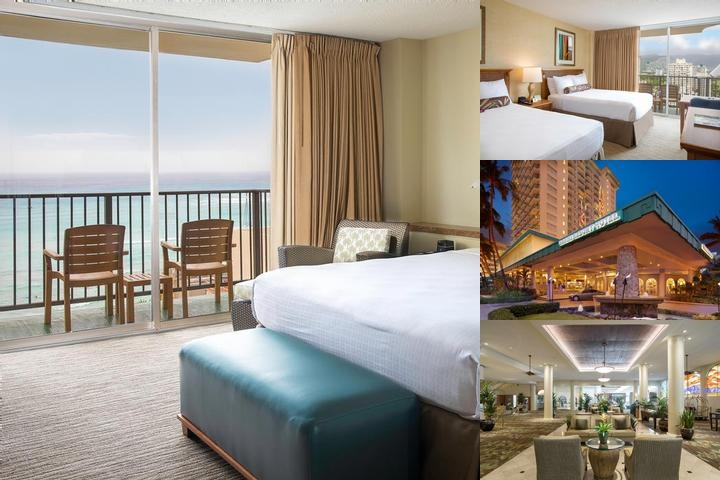 Waikiki Resort Hotel photo collage