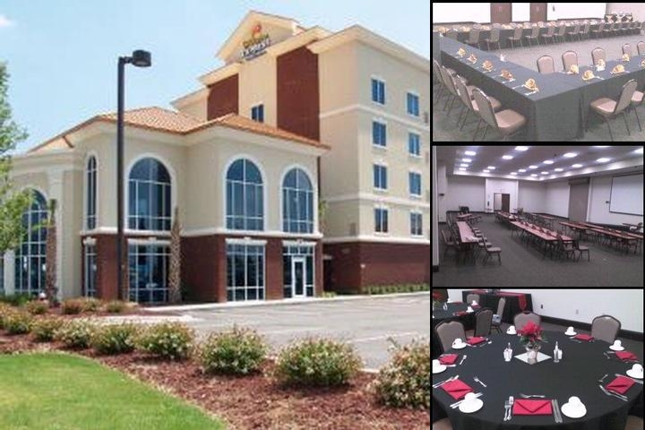 Holiday Inn Express Fort Jackson photo collage
