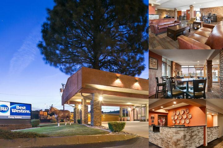 Best Western Pony Solidier Inn & Suites photo collage