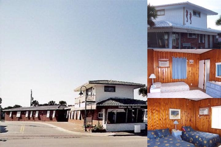 Seahorse Inn Beach Side photo collage