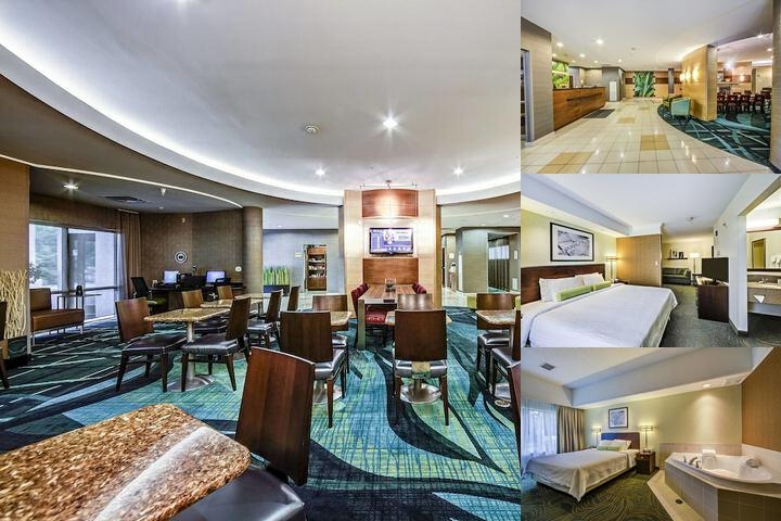 Springhill Suites Dayton South King Suite