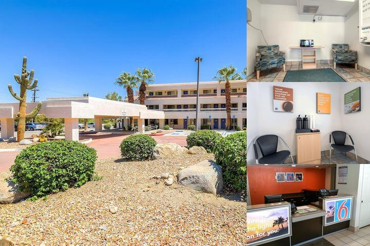 Motel 6 Palm Springs Downtown photo collage