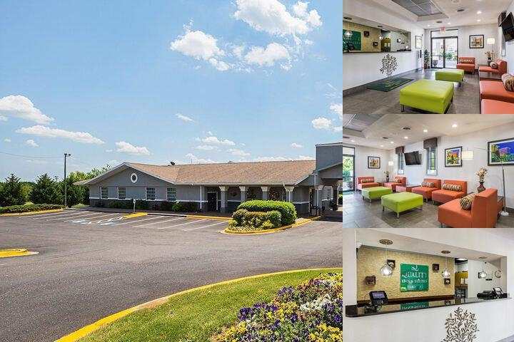 Quality Inn & Suites Haywood Mall photo collage