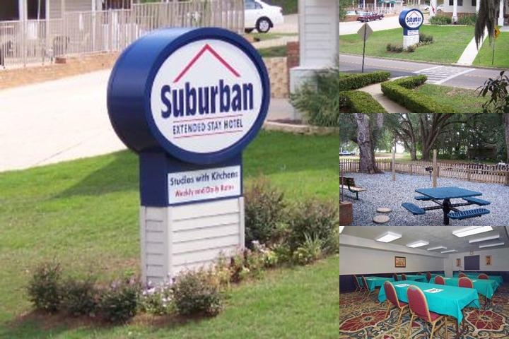 Suburban Hotel photo collage