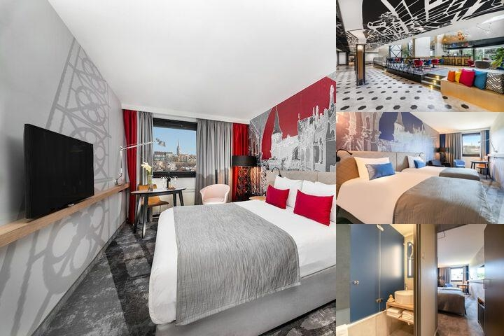 Mercure Budapest Buda photo collage