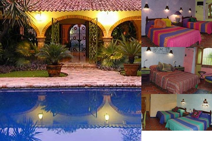 Hacienda Mosaico photo collage