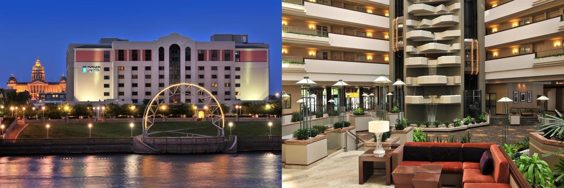 Embassy Suites Des Moines Downtown photo collage