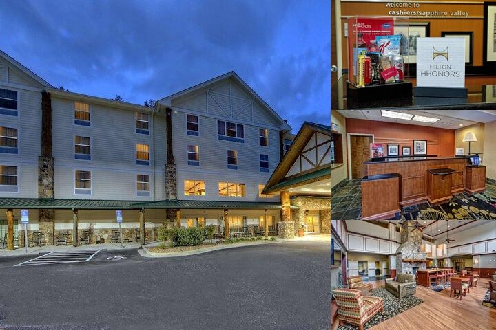 Hampton Inn & Suites Cashiers Sapphire Valley photo collage