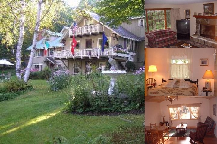 Weathervane Lodge photo collage