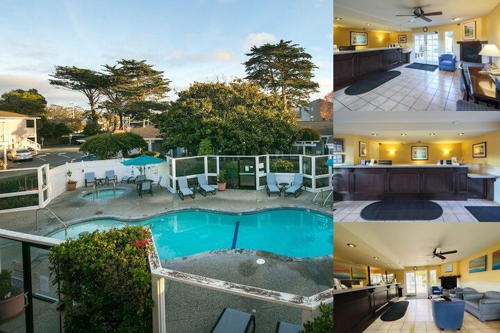 Monterey Bay Lodge photo collage