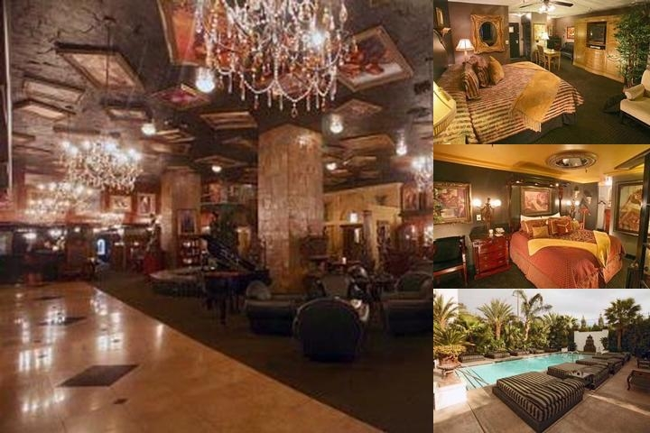 Artisan Hotel photo collage