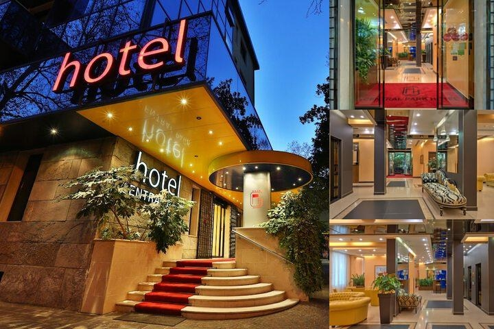 Central Park Hotel Modena photo collage