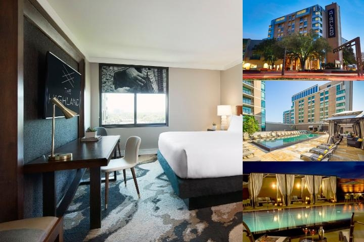Hotel Palomar Dallas photo collage