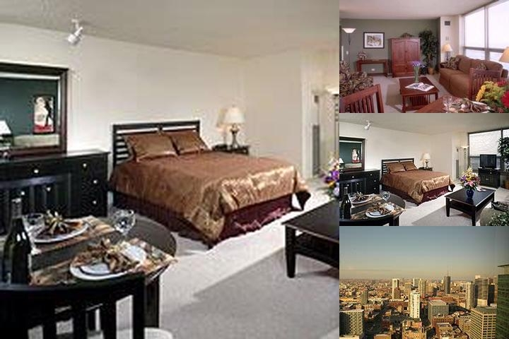 Habitat Suites at Pres Towers photo collage