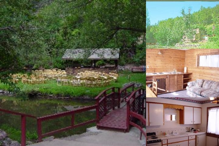 Boulder Mountain Lodge photo collage