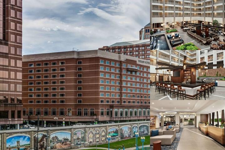 Embassy Suites Cincinnati Rivercenter photo collage
