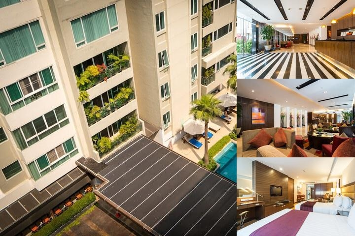 Legacy Suites photo collage