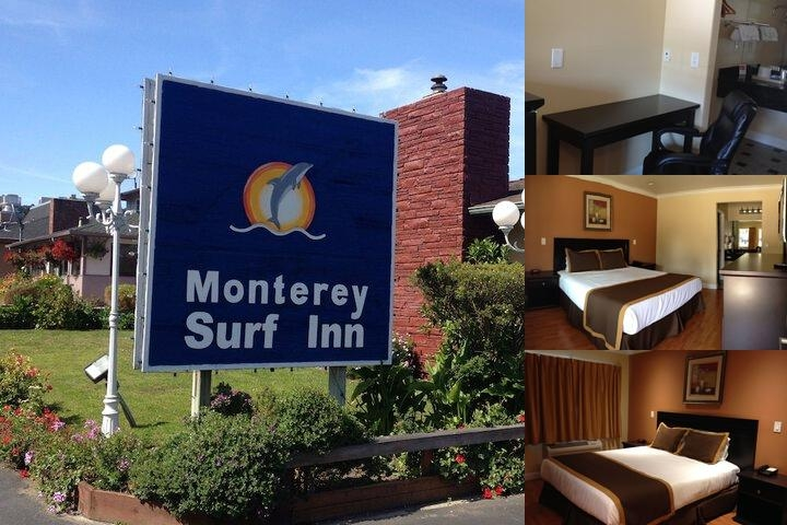 Monterey Surf Inn photo collage