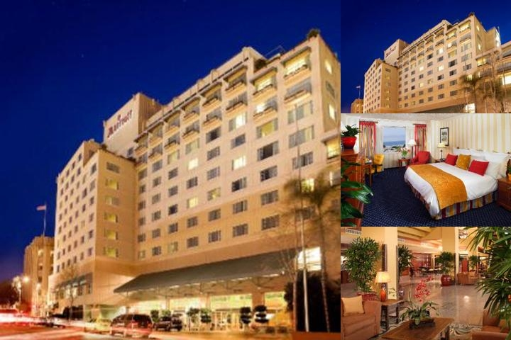Marriott photo collage