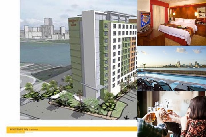 Downtown Long Beach Residence Inn photo collage