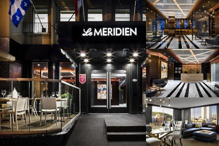 Le Meridien Versailles Montreal photo collage