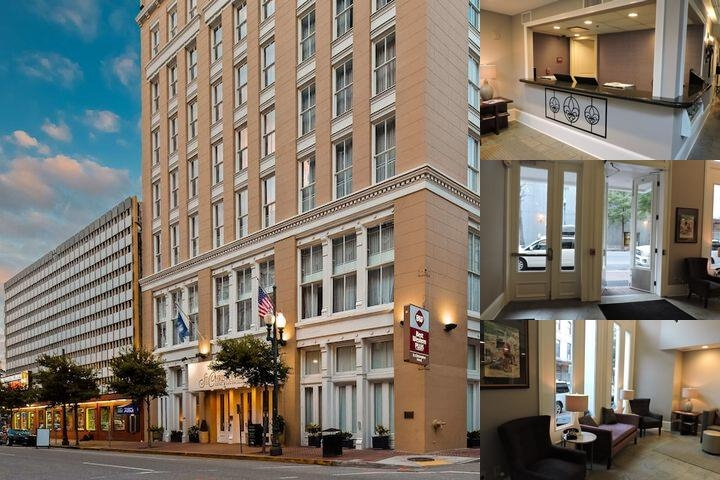 Best Western Plus St. Christopher Hotel New Orlean photo collage