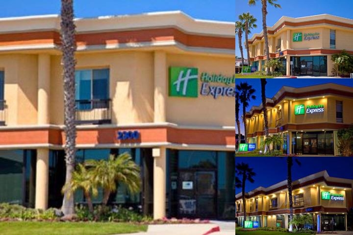 Holiday Inn Express Newport Beach photo collage