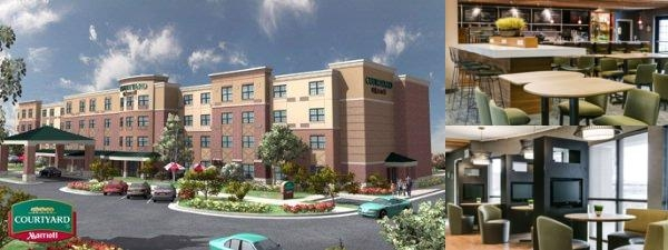 Courtyard by Marriott at Aksarben Village photo collage
