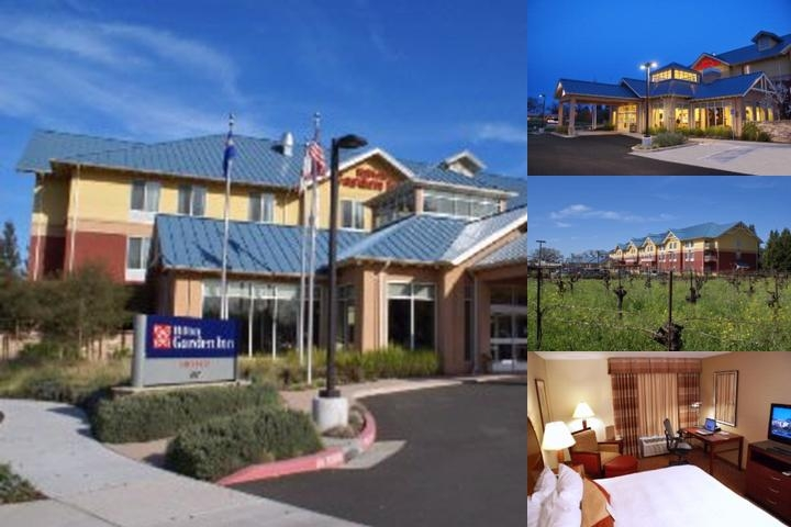 Hilton Garden Inn Sonoma County Airport photo collage