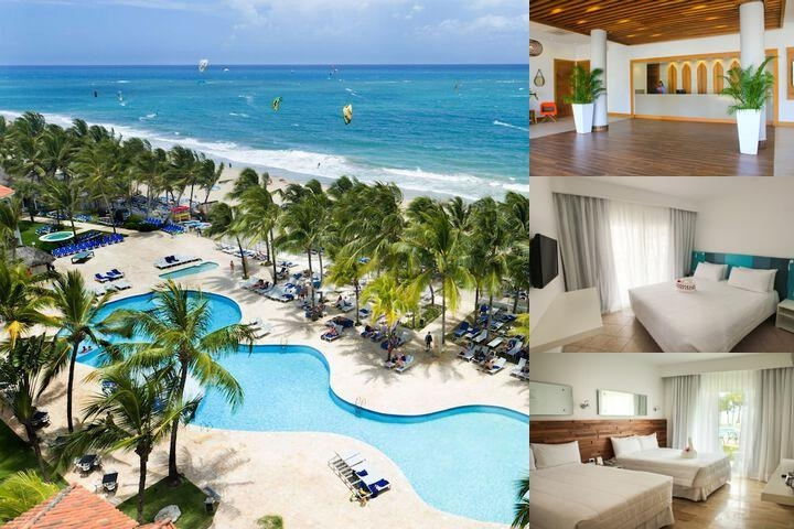 Viva Wyndham Tangerine Resort All Inclusive photo collage