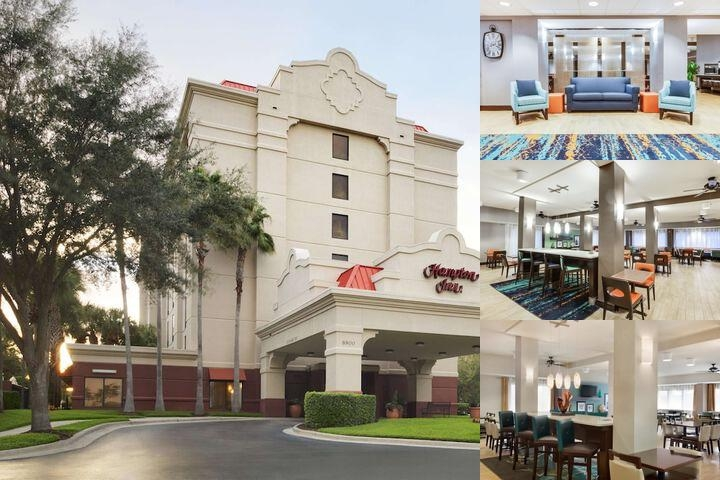 Hampton Inn Orlando Convention Center photo collage