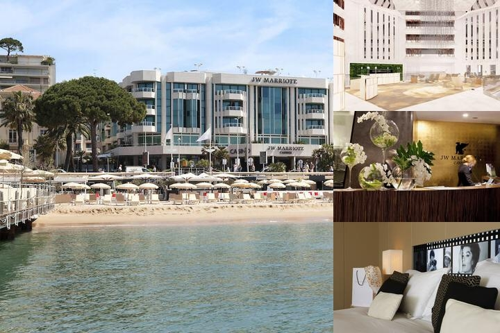 JW Marriott Cannes photo collage